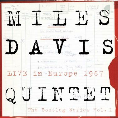 M. Davis Live in Europe 1967, cover