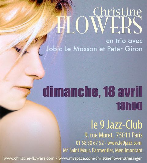 chrissy flyer avril 10 le9jazz