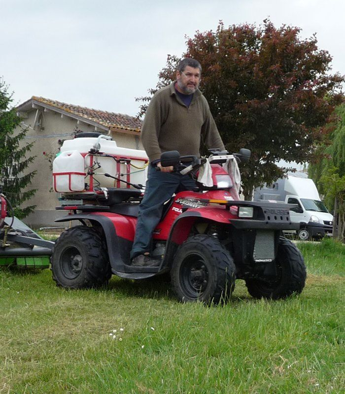 quad polaris agricole