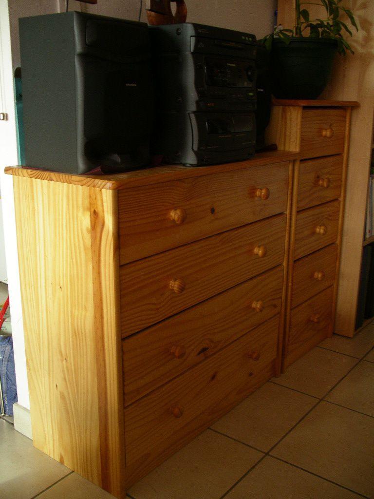2 meubles en bois le blog de vente de v tements et autres - Bois brule meuble ...