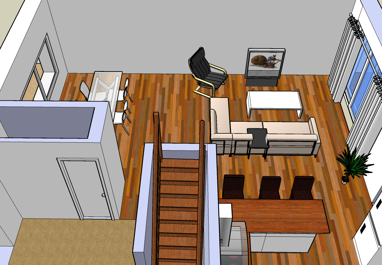 vive google sketchup le blog r novation de notre maison. Black Bedroom Furniture Sets. Home Design Ideas