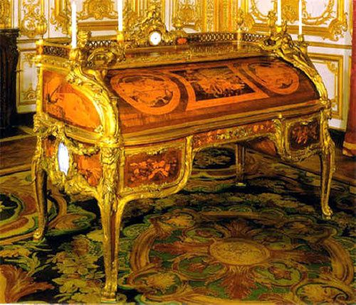 classicisme baroque rococo le blog de. Black Bedroom Furniture Sets. Home Design Ideas