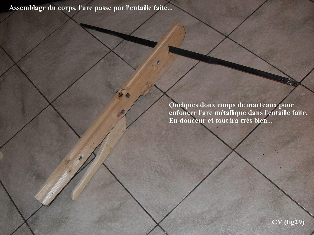fabrication d 39 une arbal te rustique de type m di vale autour des arbal tes webarcherie le. Black Bedroom Furniture Sets. Home Design Ideas