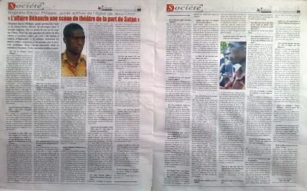 Kacou Philippe Interview