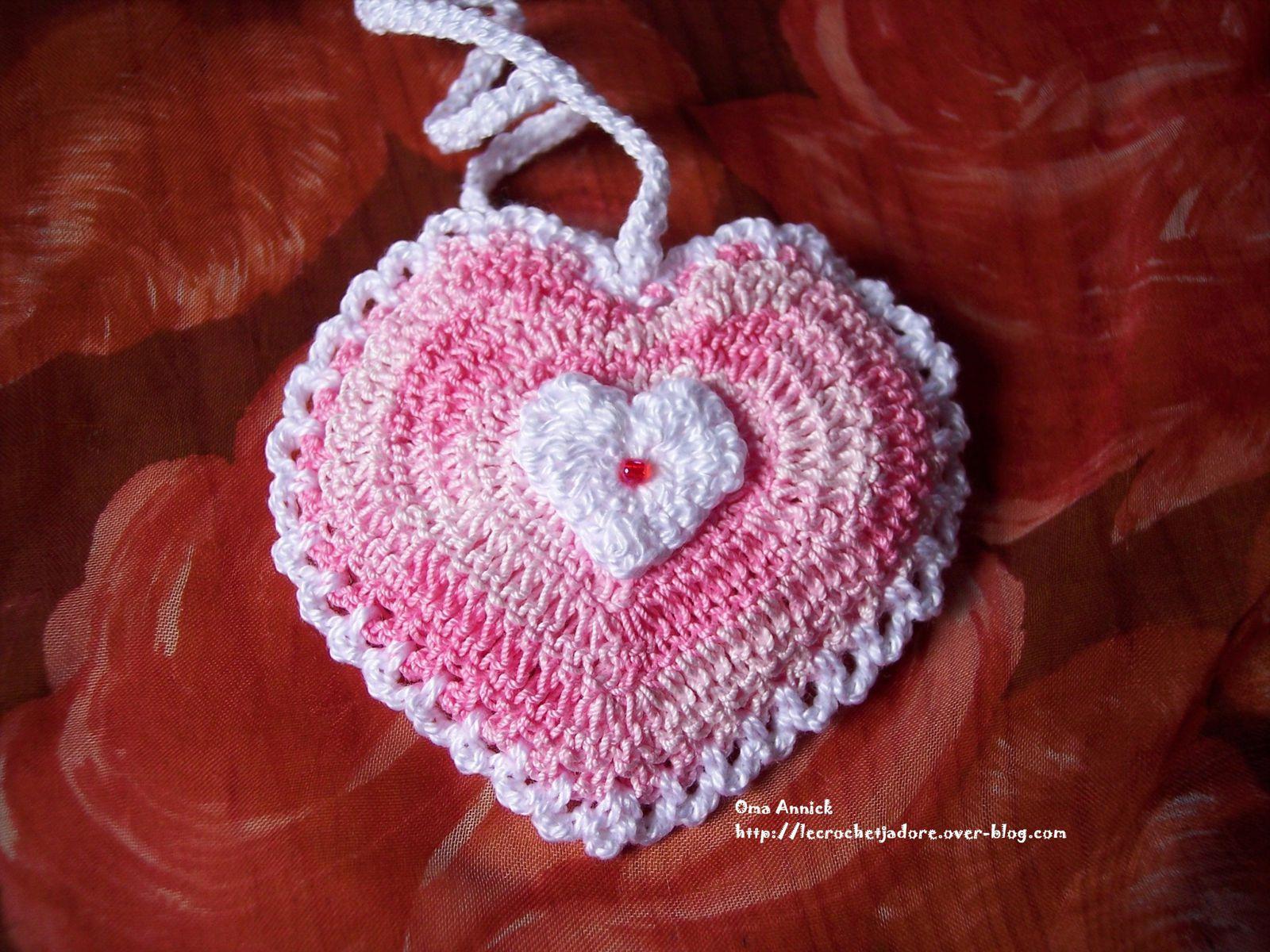 #410D0C Album Coeurs Et Papillons Le Blog De Oma Annick 6165 decoration de table de noel au crochet 1600x1200 px @ aertt.com