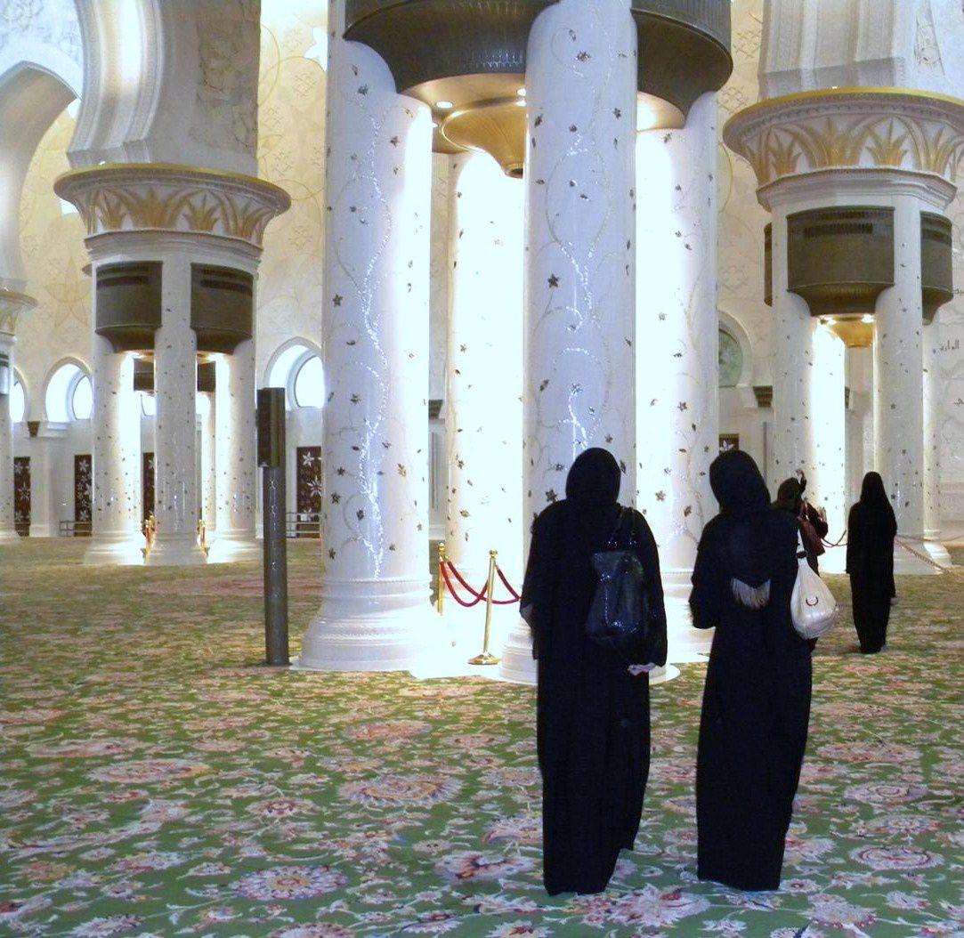 les photos de Mariela mosquée d'Abu Dhabi (Emirats arabes unis)
