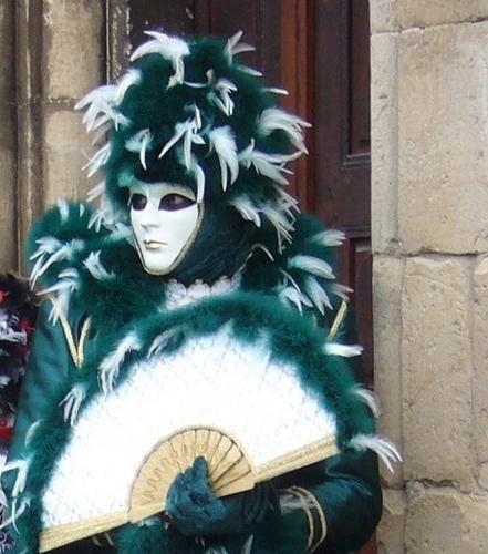 Le regard sous les masquesparade vénitienne de Rosheim2009photos philae (jo)