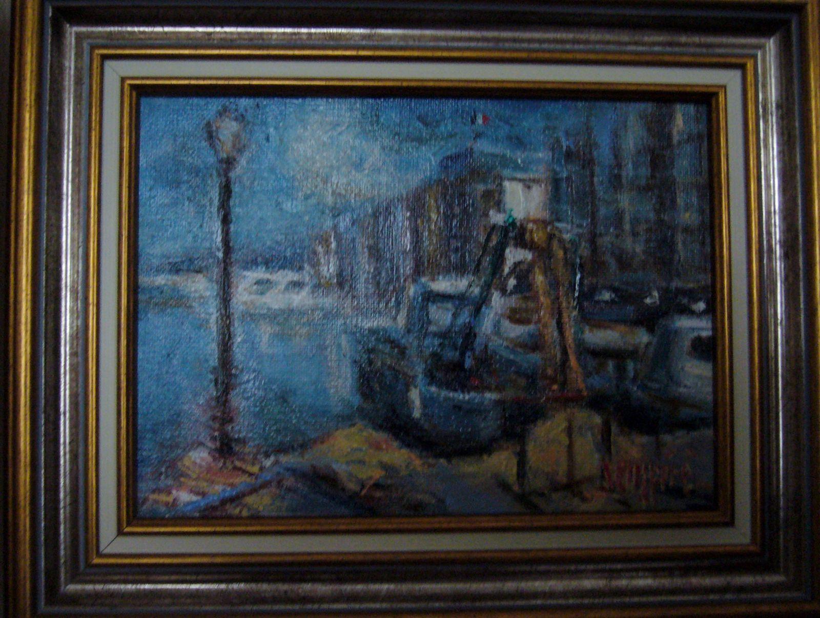 quelques tableaux de Flavien Sempéré de Toulon -  Var (France)TOULON 06 13 51 00 77 qui propose aussi des cours de peinture et de dessin