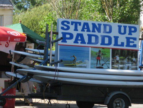 107 Camionnette-remorques Stand up paddle