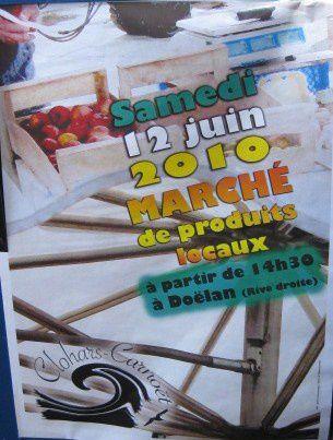 039 R Affiche Marché Artisanal