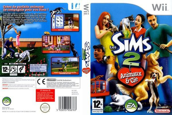 The_Sims_2_Pets_French_PAL_Custom--cdcovers_cc--front.jpg