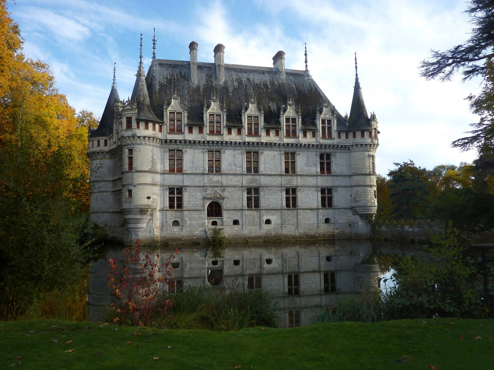un week end d 39 automne en touraine azay le rideau amboise. Black Bedroom Furniture Sets. Home Design Ideas