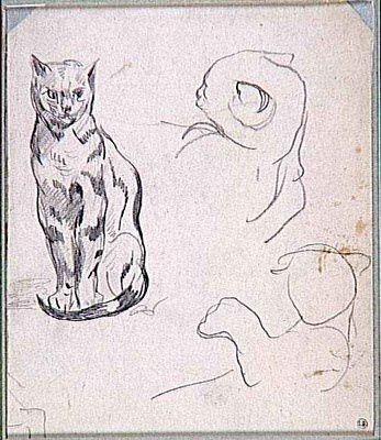 assis tete-chat-delacroix