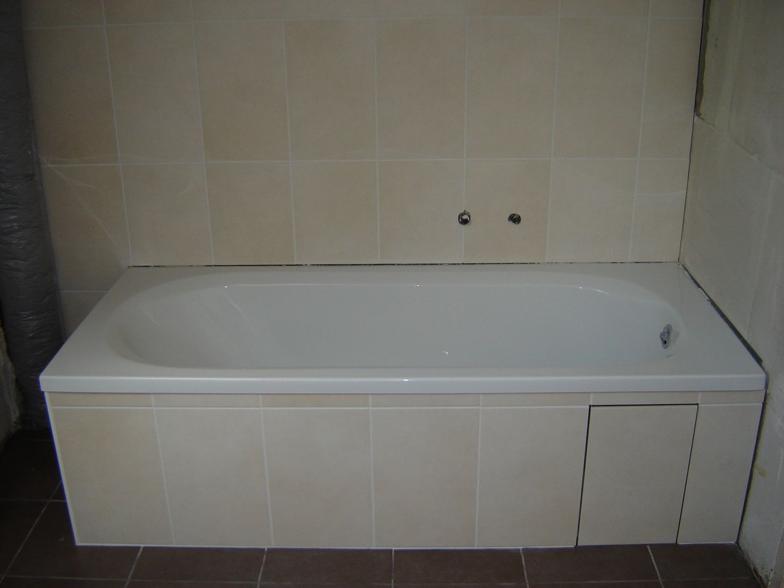 Carrelage sdb my sweet home - Baignoire a carreler ...