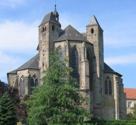 L'abbaye de Bouzonville