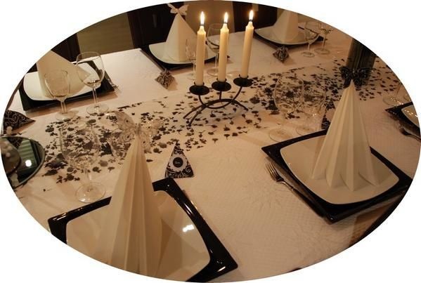 Deco table reveillon jour de lan for Decoration jour de l an