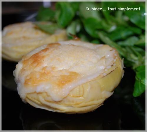 Du ch vre dans un fond d 39 artichaut cuisiner tout - Comment cuisiner les coeurs d artichaut ...
