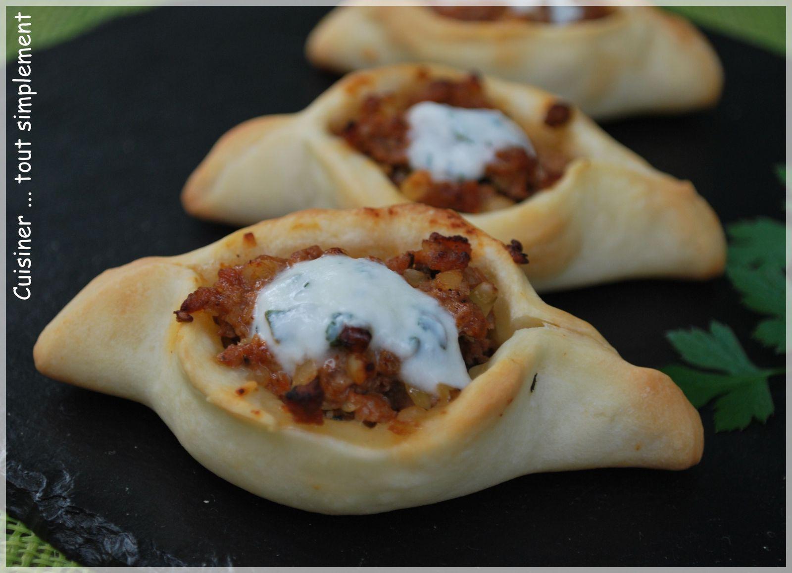 Minis pizzas turques cuisiner tout simplement le for Blog de cuisine