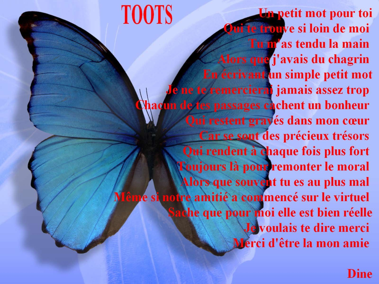 Toots Mes Paroles En Maux