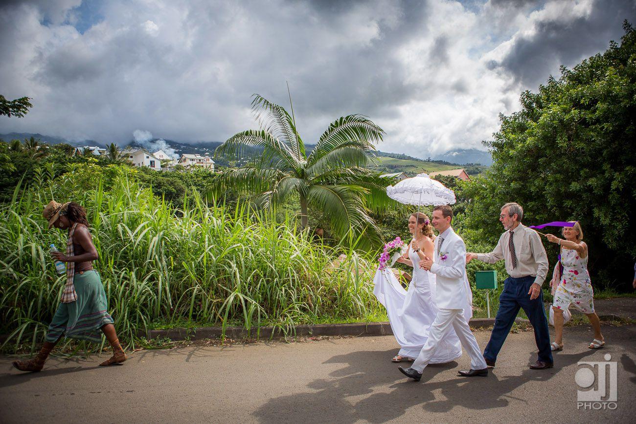 à la grande montée, la Réunion