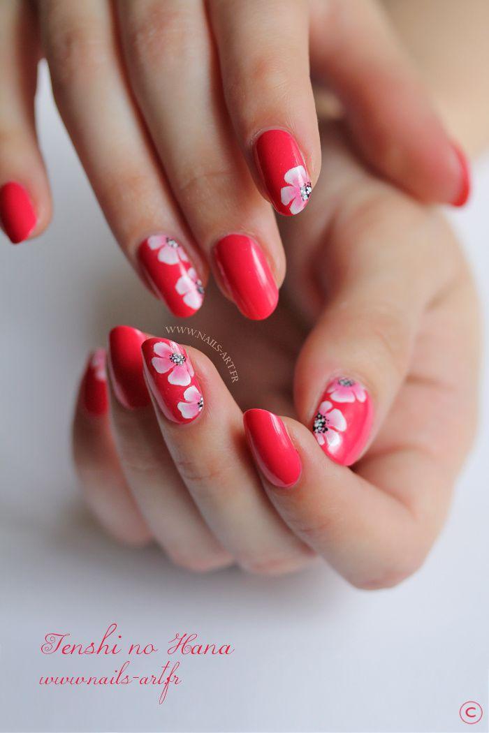 Deco ongles fleurs - Deco ongle simple ...