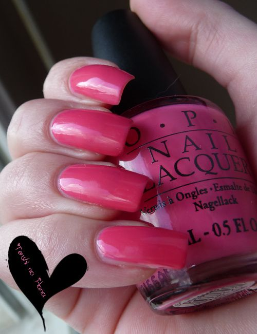 OPI Feeling hot hot hot 1