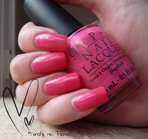 OPI Feeling hot hot hot 3