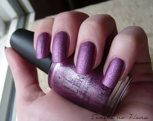 OPI We'll always have paris suede 1