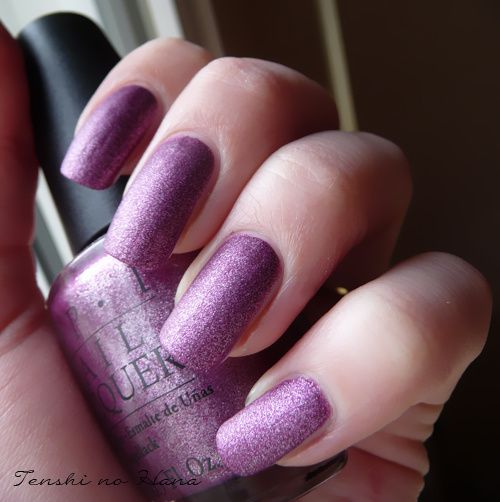 OPI We'll always have paris suede 2