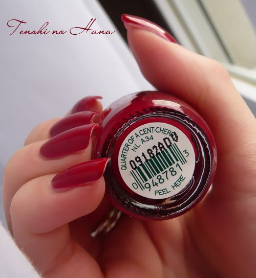 OPI quarter of a cent cherry 5