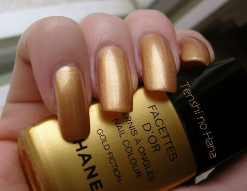 chanel facettes d'or 1