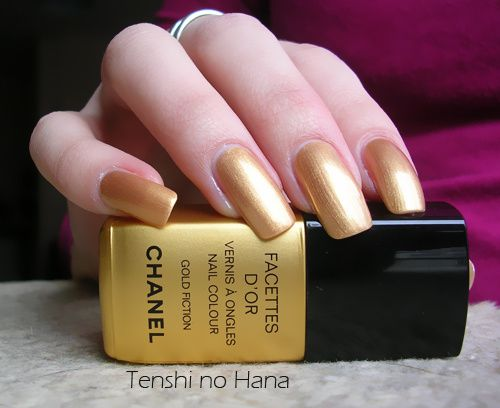 chanel facettes d'or 2