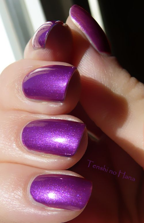 OPI Purple with a Purpose 2