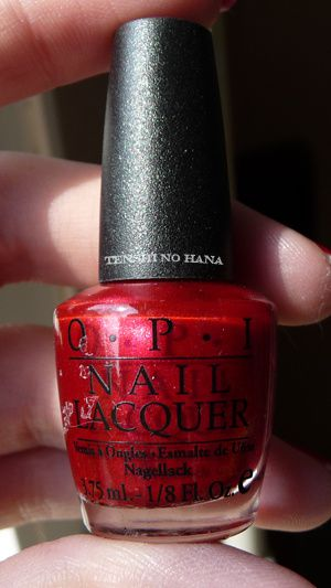 OPI Thanks so Muchness 1