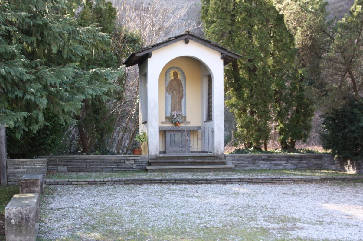 Parco della Breggia, cappelletta