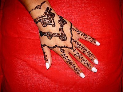 Galerie henn mod les traditionnels orientaux le blog de - Henne main facile ...