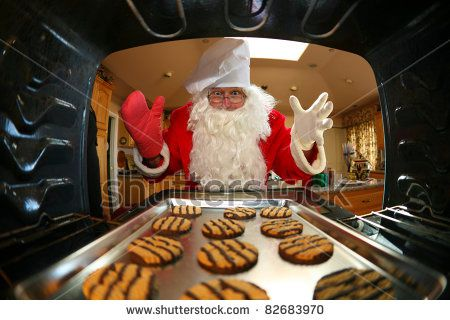 stock-photo-humorous-image-from-within-an-oven-of-santa-in-