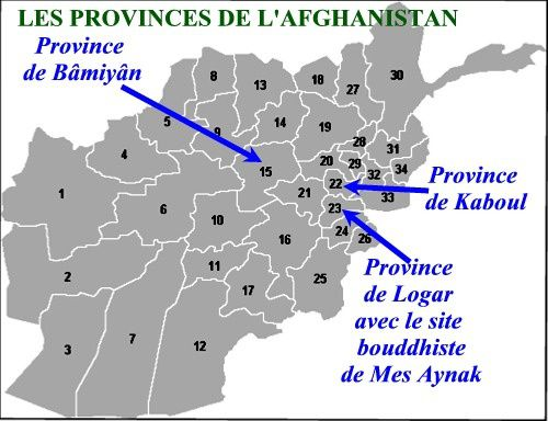 Afghanistan provinces