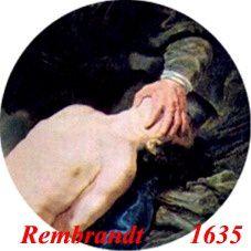 Isaac yeux caches par main d ABR Rembrandt 1635 a © Giacob