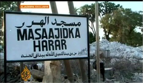 Somalis destructions c capture ecran © Aljazeera