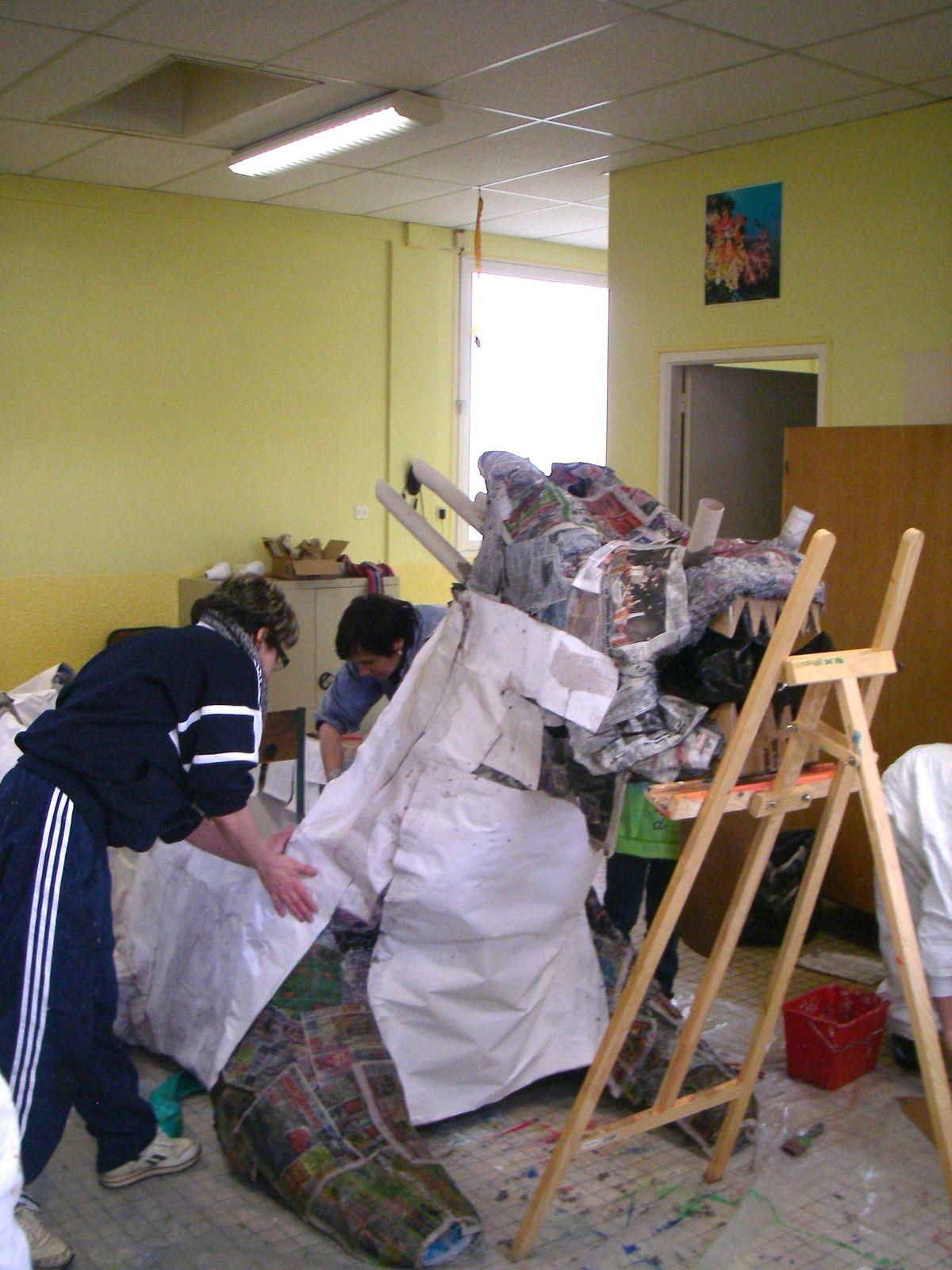 Atelier de Flo et le Carnaval à de Donchery