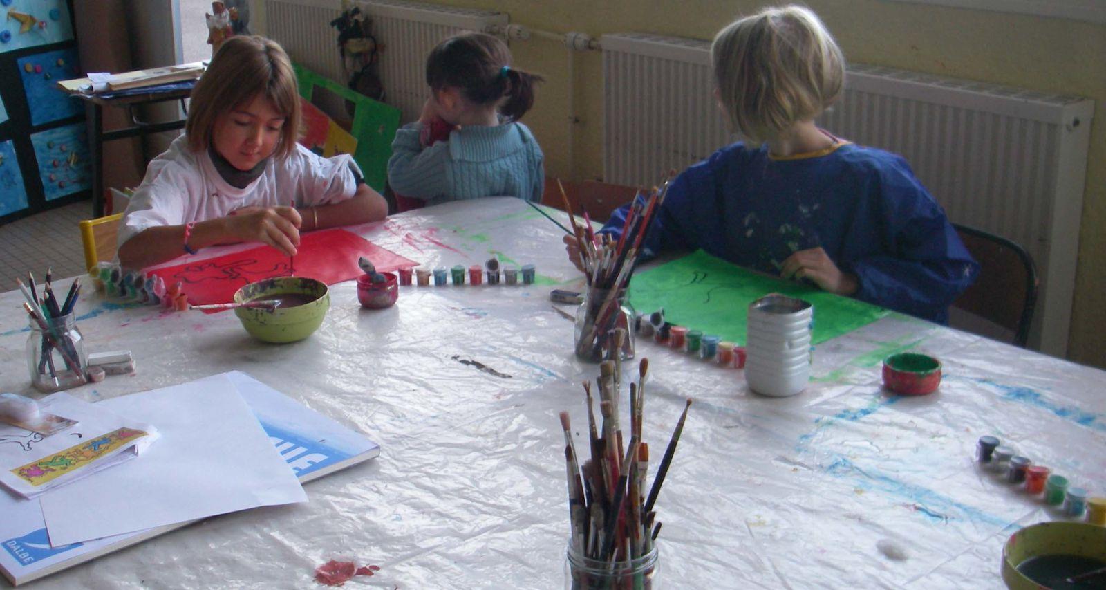 peinture enfants ardennes florence megardon