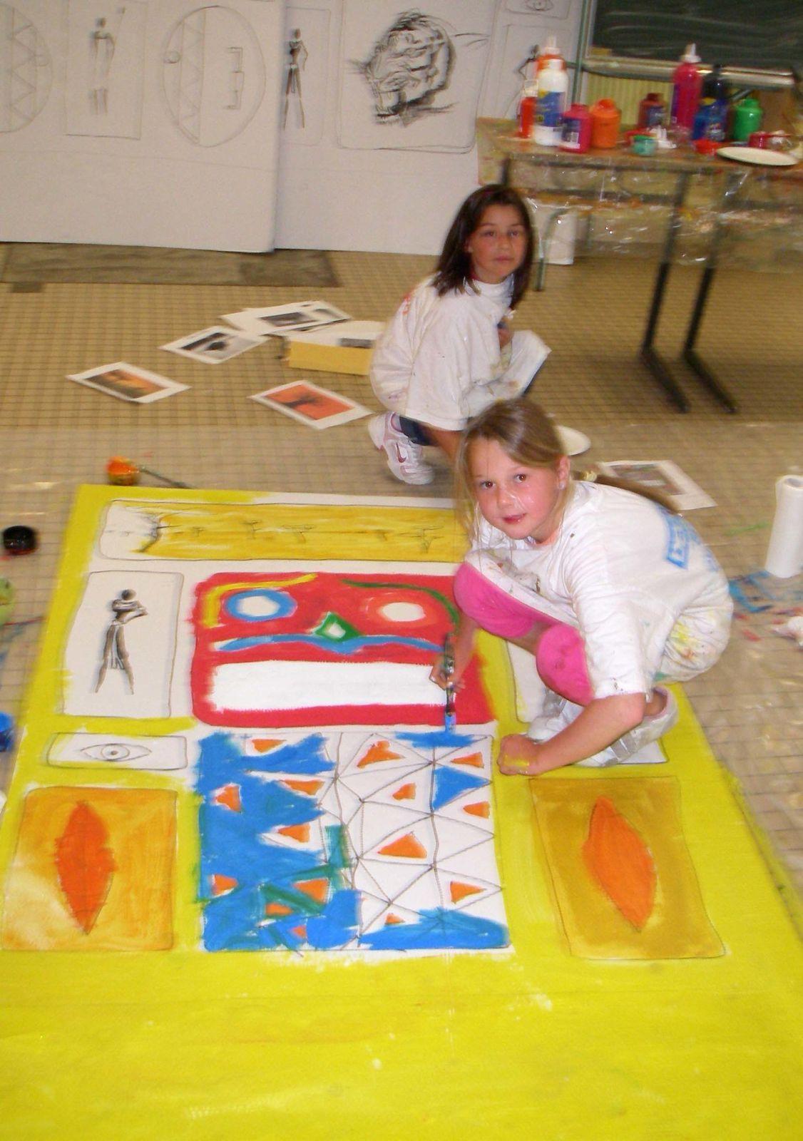 atelier peinture flo