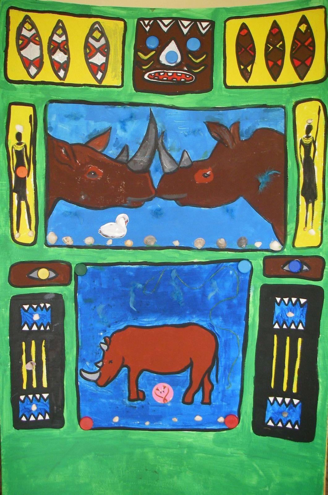 Décor théatre-peinture-enfant-atelier Flo.M