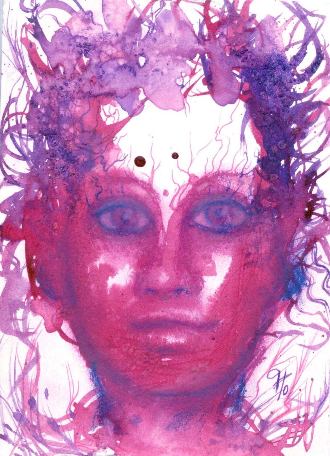 portraits peinture florence megardon Oris