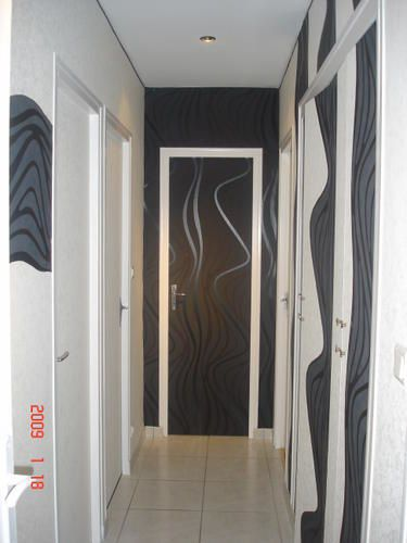 Couloirs le blog de l hana - Decorer porte interieur ...