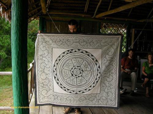 amerique latine, art shipibo