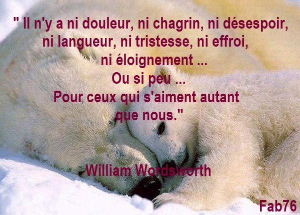 amour william wordsworth