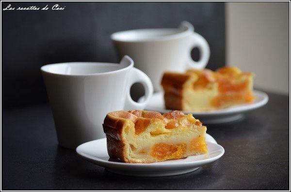 far aux abricots secs parfum la vanille les recettes de c ci. Black Bedroom Furniture Sets. Home Design Ideas