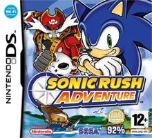 Jeux Nintendo DS Sonic Rush Adventure